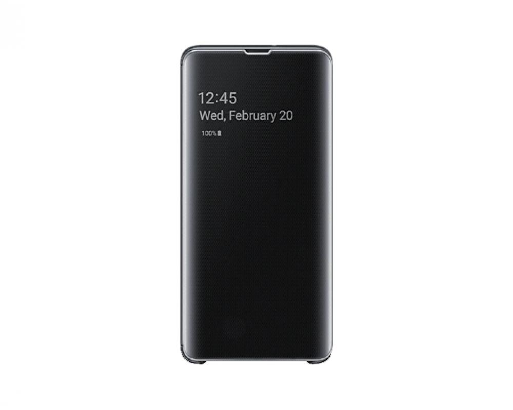Samsung Clear View Cover För Galaxy S10 5G Svart