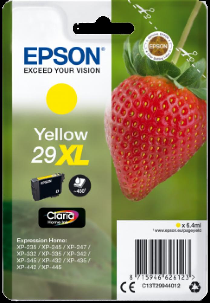 Epson 29xl Gul C13T29944012