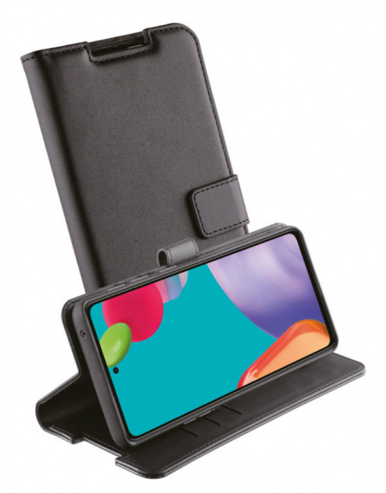 Vivanco Plånboksfodral till Galaxy A52/A52 5G Svart