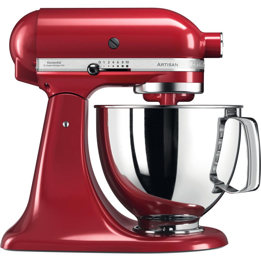 KitchenAid Artisan Köksmaskin Röd