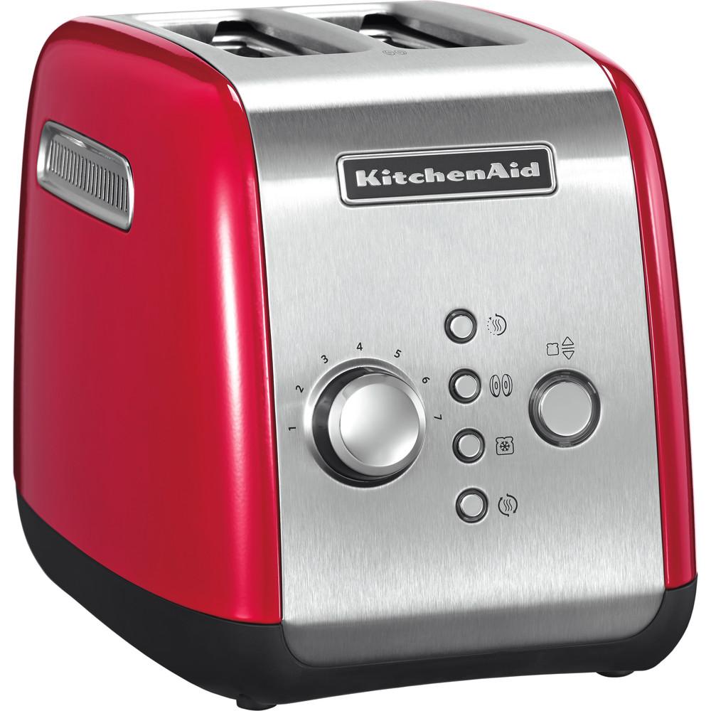 KitchenAid Brödrost 2-skivor 1100 watt Röd