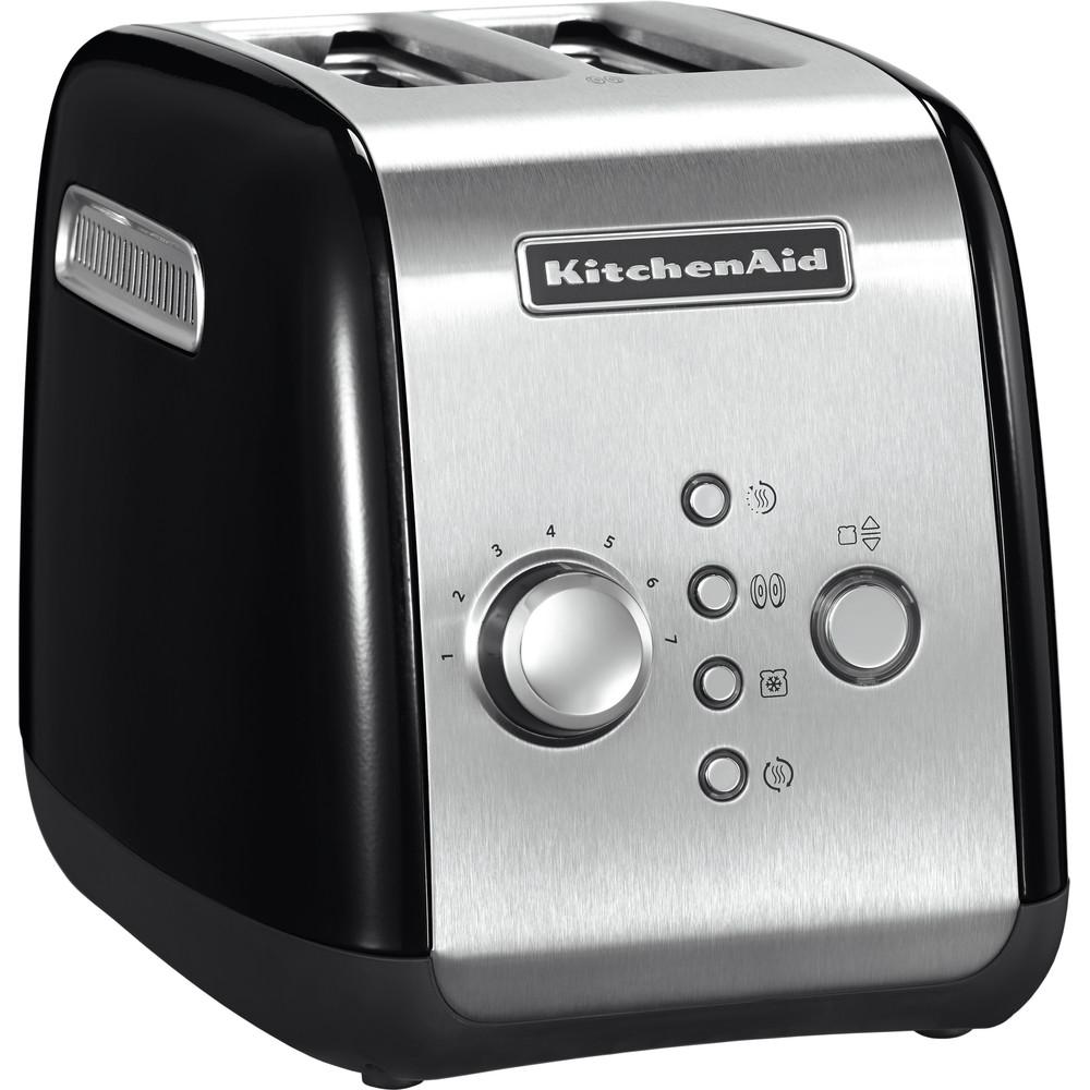 KitchenAid Brödrost 2-skivor 1100 watt Svart