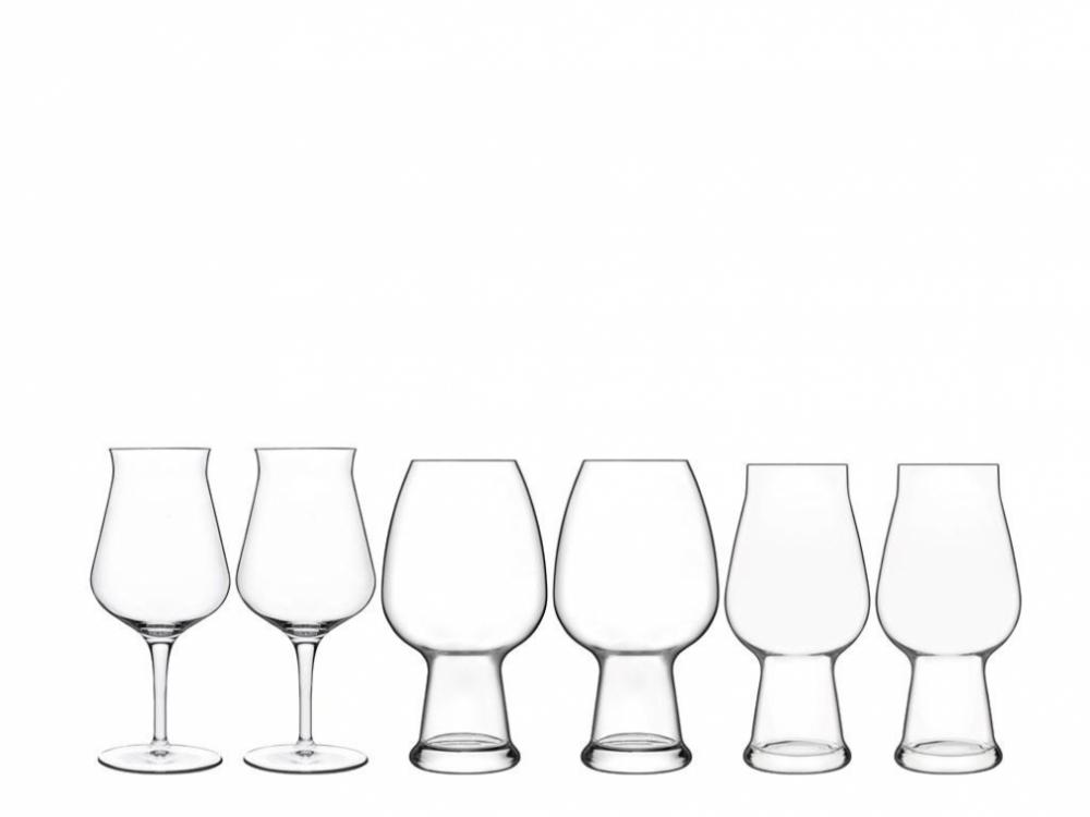 Luigi Bormioli Birrateque Ölglas-set
