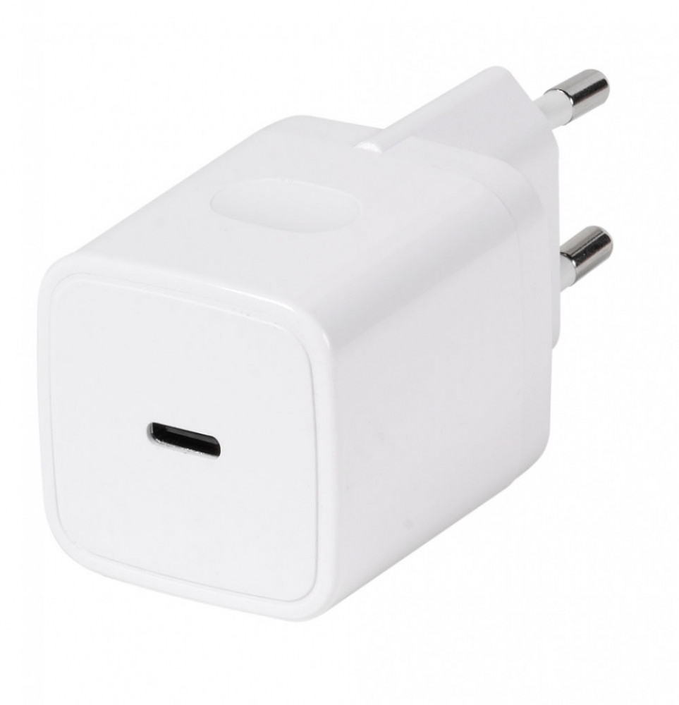 Vivanco Lightning/USB-C PD 20W Hemladdare 1.2m Vit